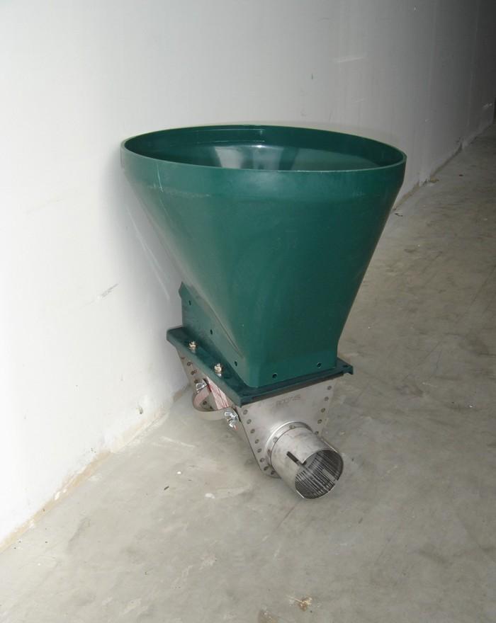 Embase sous silo - 1 voie...