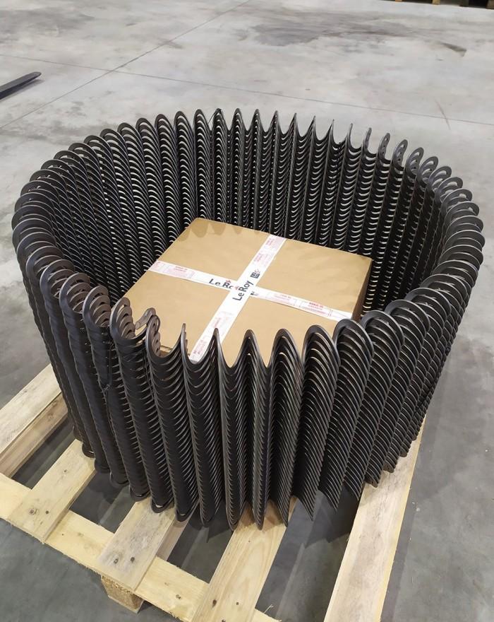 Spirale ø68 pour tube ø90 (ml)