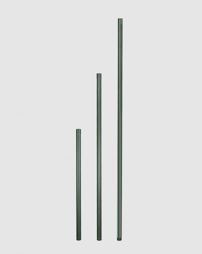 Tuyau inox 1 sortie 75 cm